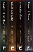 Malazan Book of the Fallen: Books 1-4
