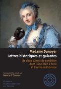 Lettres historiques et galantes