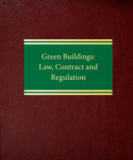Green Buildings: Law, Contract and Regulation