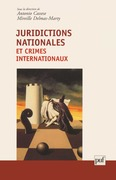 Juridictions nationales et crimes internationaux
