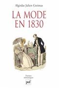 La mode en 1830