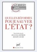 Quelles réformes pour sauver l'État ?