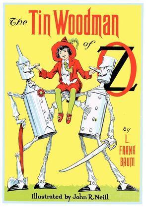 The Illustrated Tin Woodman of Oz