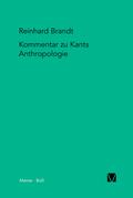 """Kritischer Kommentar zu Kants """"Anthropologie in pragmatischer Hinsicht"""" (1798)"""