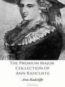 The Premium Major Collection of Ann Radcliffe