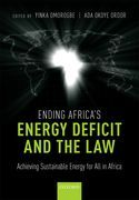 Ending Africa's Energy Deficit and the Law
