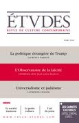 Etudes : La politique étrangère de Trump