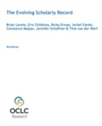 The Evolving Scholarly Record