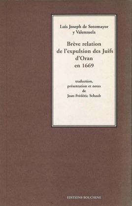 Brève relation de l'expulsion des Juifs d'Oran en 1669