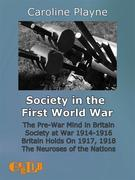 Society in the First World War