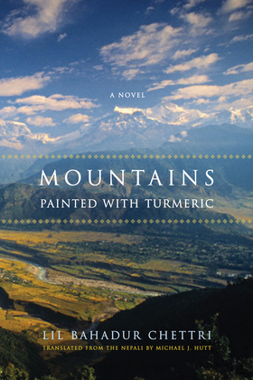 Mountains Painted with Turmeric