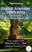English Armenian Dutch Bible - The Gospels - Matthew, Mark, Luke & John