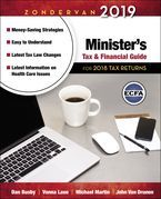 Zondervan 2019 Minister's Tax and Financial Guide