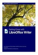 Getting Closer with LibreOffice Writer