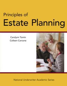 Principles of Estate Planning