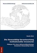 Die Stewardship-Verantwortung institutioneller Investoren