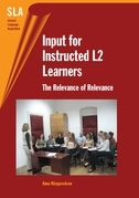 Input for Instructed L2 Learners