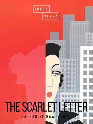 The Scarlet Letter Book Cover.The Scarlet Letter