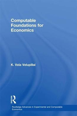Computable Foundations for Economics