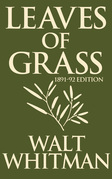 Leaves of Grass: 1891-1892 Editon