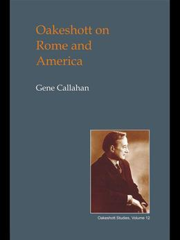 Oakeshott on Rome and America