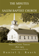 The Minutes of Salem Baptist Church