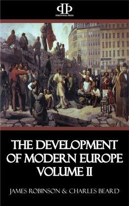 The Development of Modern Europe Volume II