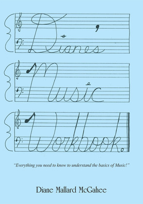 Diane's Music Workbook