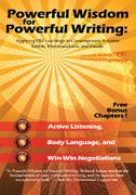 Powerful Wisdom for Powerful Writing