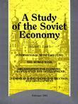 A Study of the Soviet Economy. 3-volume set