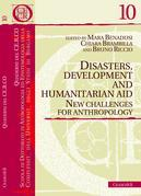 Disasters, Development and Humanitarian Aid