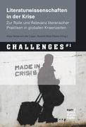 Literaturwissenschaften in der Krise