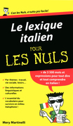 Le lexique italien Pour les Nuls