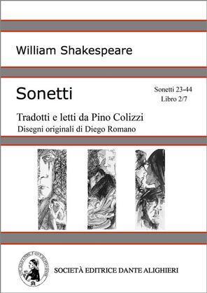 Sonetti - Sonetti 23-44 Libro 2/7 (versione PC o MAC)