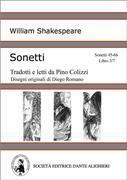 Sonetti - Sonetti 45-66 Libro 3/7 (versione PC o MAC)