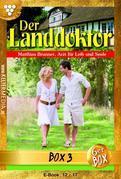 Der Landdoktor Jubiläumsbox 3 - Arztroman