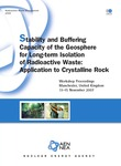 Stability and Buffering Capacity of the Geosphere for Long-term Isolation of Radioactive Waste
