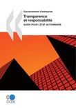 Transparence et responsabilité : Guide pour l'État actionnaire