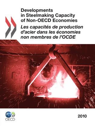 Les capacités de production d'acier dans les économies non membres de l'OCDE 2010