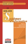 Les grands auteurs en systèmes d'information