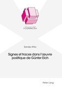 Signes et traces dans l'œuvre poétique de Guenter Eich
