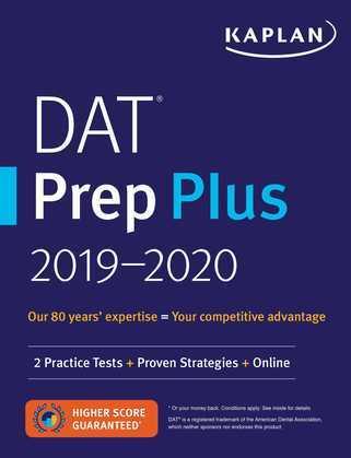 DAT Prep Plus 2019-2020