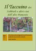 Il Taccuino dei Nebbioli e vini dell'Alto Piemonte