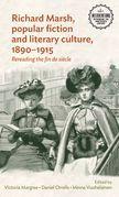 Richard Marsh, popular fiction and literary culture, 1890-1915