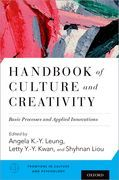 Handbook of Culture and Creativity