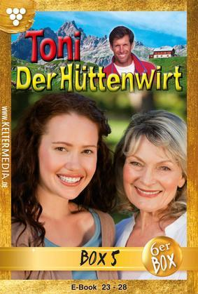 Toni der Hüttenwirt Jubiläumsbox 5 - Heimatroman