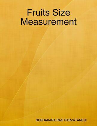Fruits Size Measurement