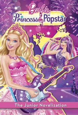 Princess and the Popstar Junior Novelization (Barbie)