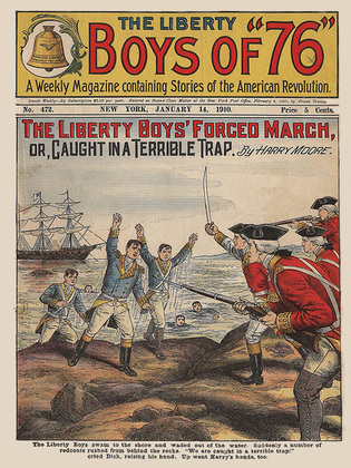 The Liberty Boys' Forced March