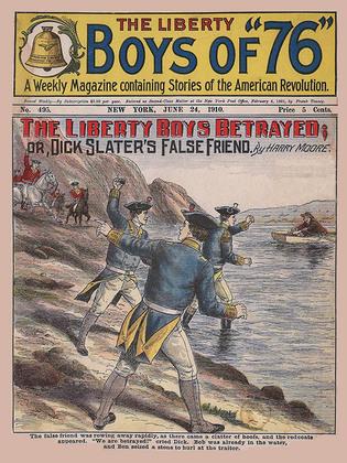 The Liberty Boys Betrayed